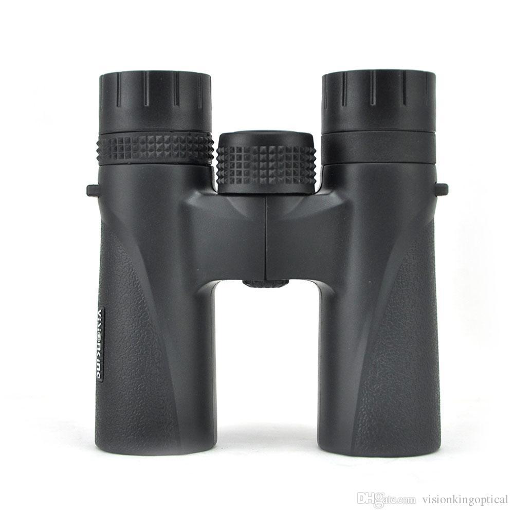 Spedizione gratuita Visionking Binocolo VS12X28 Ingrandimento 12x Ergonomico Manopola di messa a fuoco centrale con incavo grande Comfort Meno peso Sharper Contro
