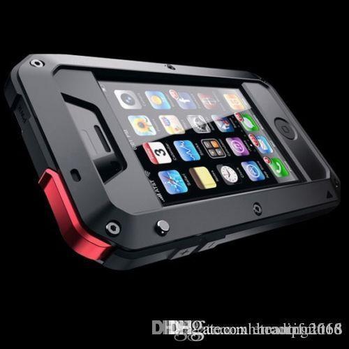브랜드 방수 충격 방지 금속 알루미늄 고릴라 케이스 아이폰 6 7 8 X XR PLUS