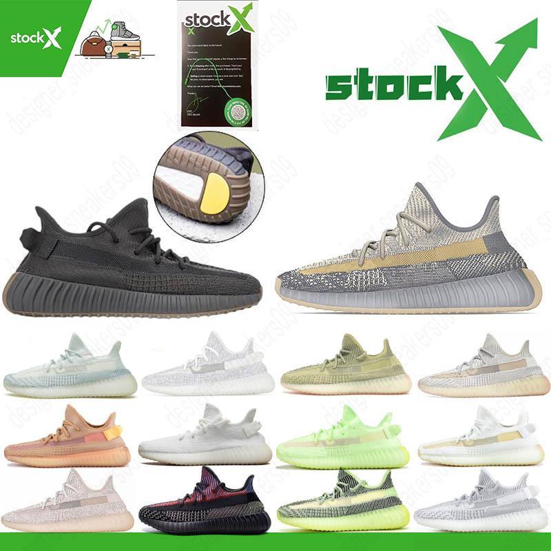 Top Yecheil Preto estática Reflective Synth Antlia Kanye West Running Shoes Gid Brilho argila Beluga 2,0 Manteiga Semi Homens Mulheres sapatilhas do desenhista
