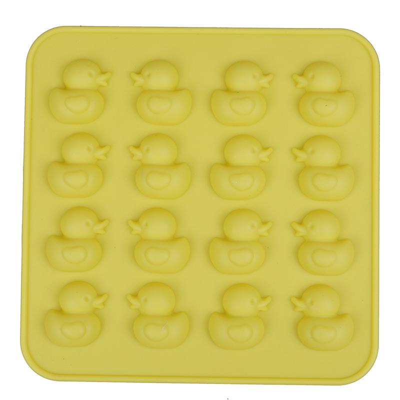 1pc Silicone 3D Duck Candle Mold Clay Soap Molds Fondant Chocolate Moulds Kitchen Baking Cake Decorating Tools