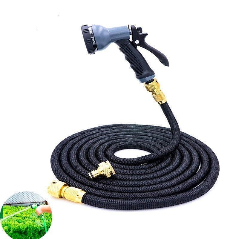 50Ft Garden Hose Expandable Magic Flexible Water Hose Eu Hose Plastic Hoses Pipe with Spray Gun To Watering