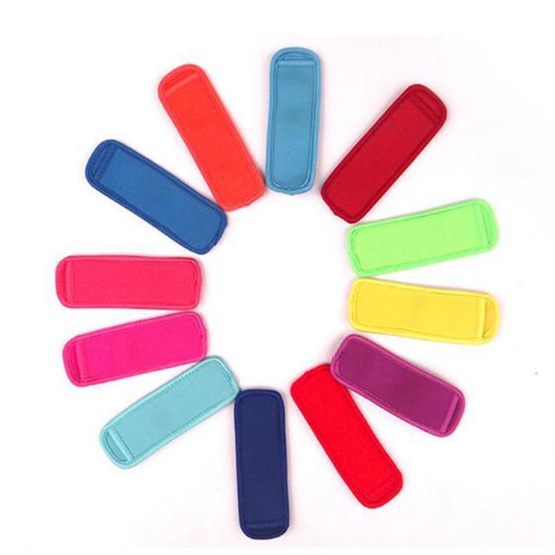 Popsicle Sahipleri Pop Buz Kollu Dondurucu Pop Sahipleri Çocuklar Yaz Mutfak Çerezler 10 renk Var STOC için 8x16cm