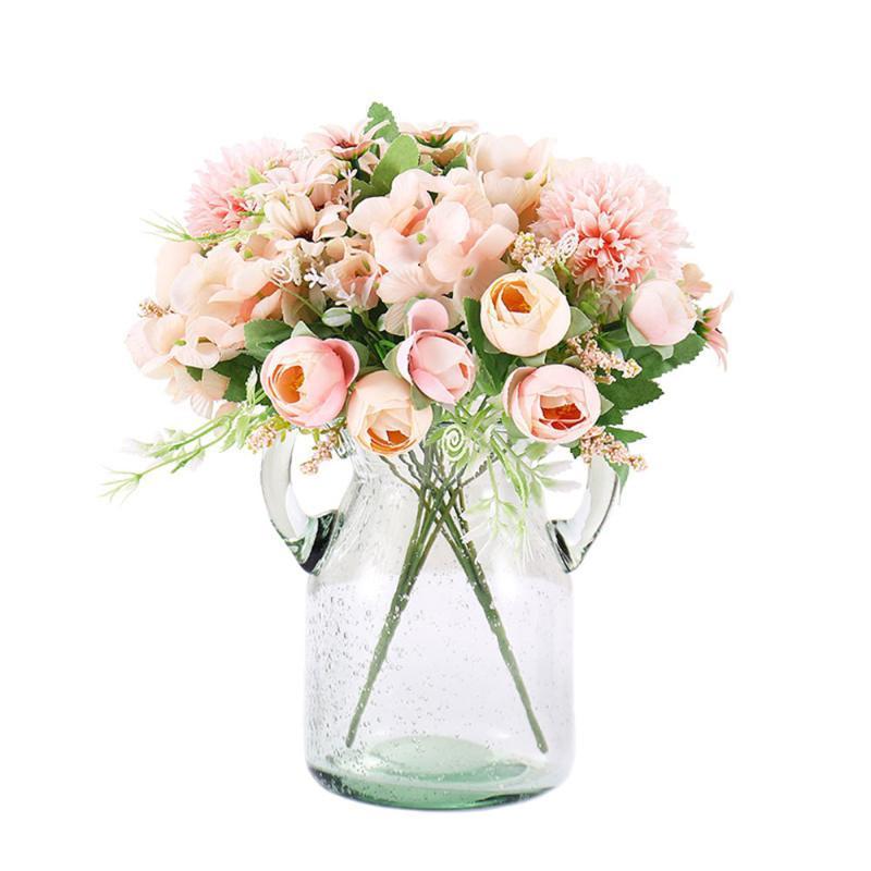 Oturma Odası Buket Plastik Sahte Çiçek Çekim Dikmeler Yapay Çiçek Dekorasyon Ev Dekorasyon Dekorasyon Holding Çiçekler