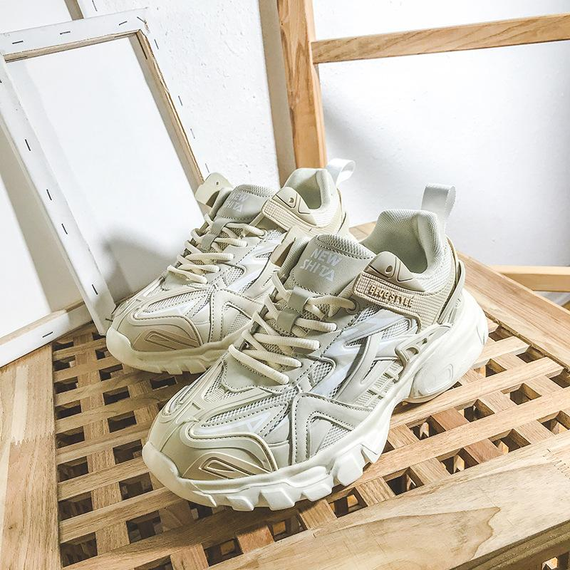 Rua tiro versão sul-coreano de tênis sapatos novos de moda masculina de verão sapatos masculinos designer de alta qualidade