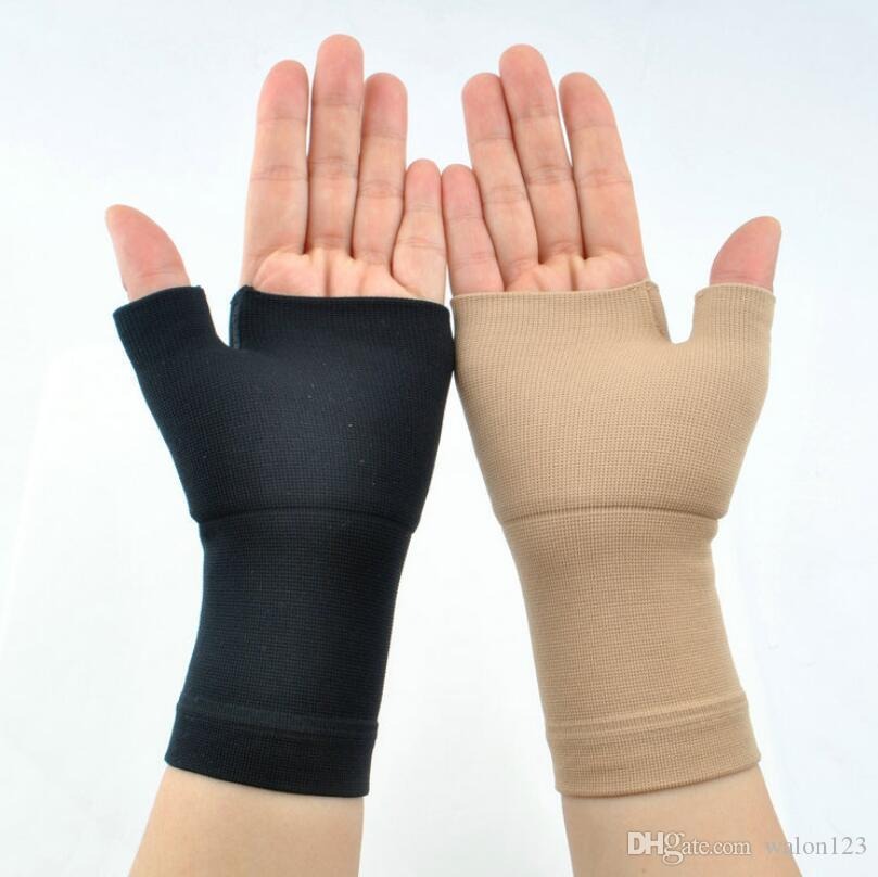 2019 Arthritis Gloves Compression Sports Protection Pain Relief Hand Wrist Support Brace Promote Blood Circulation Efficacy Gloves From Walon123
