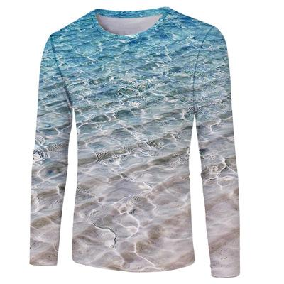 Art Painting Starry Night Wave Print Women Summer Short Sleeves Tops 3D Custom Casual Girls Clothing T-shirts Tees Ypf718