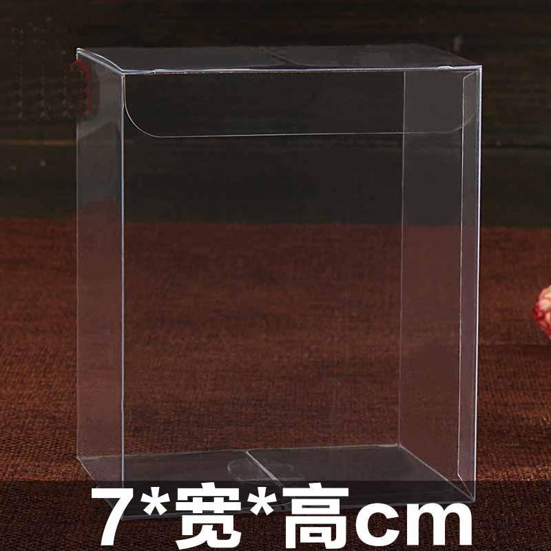 claras caixas caixa de pvc embalagem de plástico para presentes / chocolate / doces / cosméticos / cake / artesanato quadrado transparente pvc favor presente Boxwedding