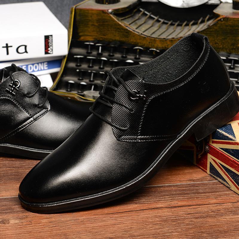 Vendita calda- uomini scarpe formali uomini scarpe classiche da uomo Nero Business classico zapatos hombre scarpe da uomo sapatos masculino sociais ayakkab