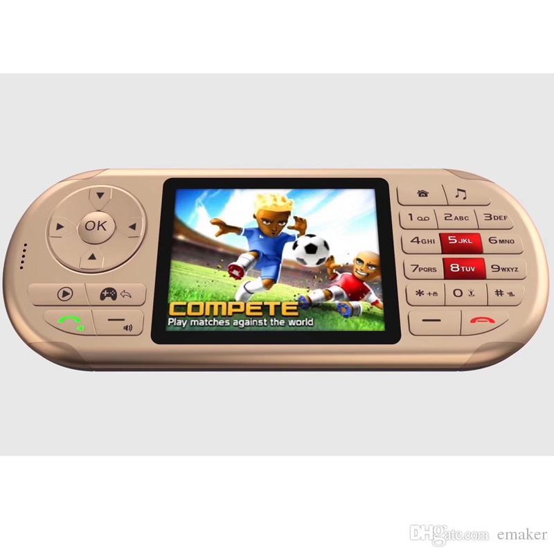 2019 Spieler mit GPRS und Kamera Portable Game Players Taschenlampe Multi-Funktions-Internet-Smart-Plyer