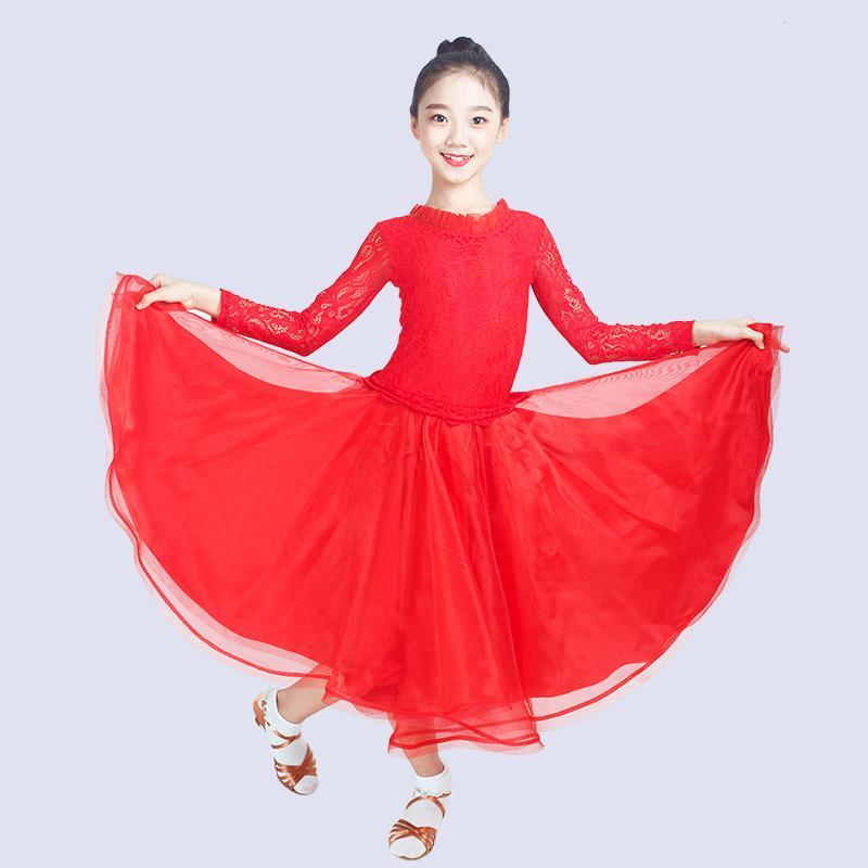 Costume da ballo moderno per bambini, costume da ballo professionale per bambini, DQL1327