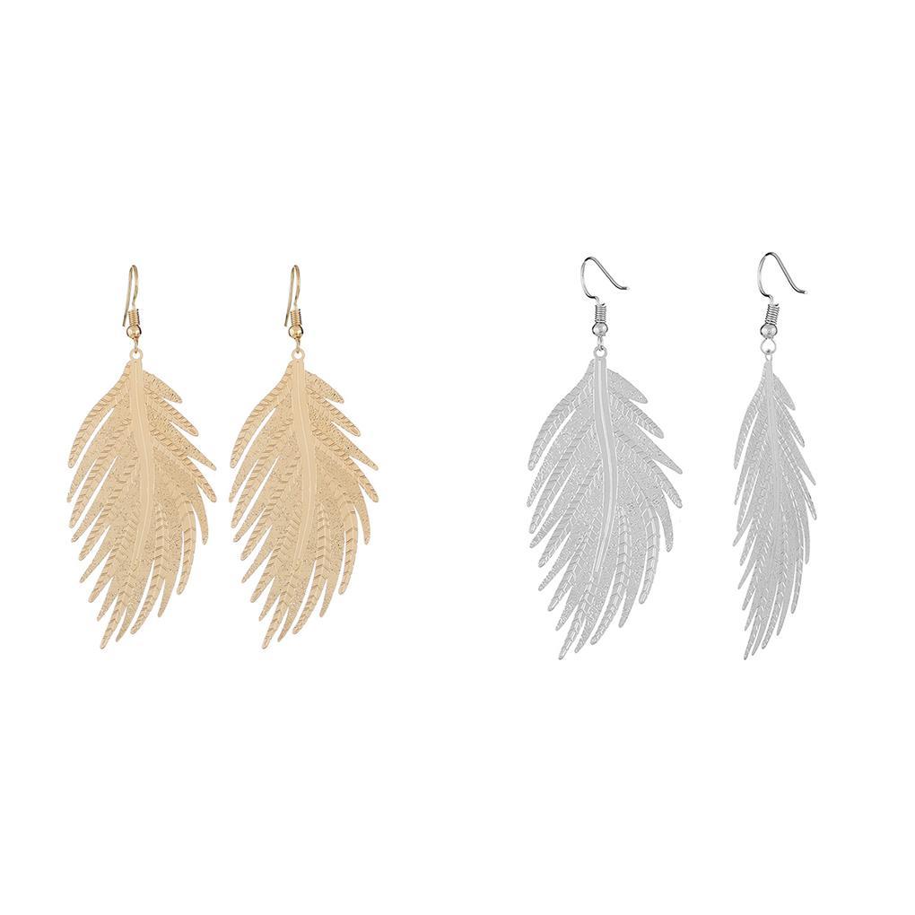 New Fashion Women Gold Crochet Dangle Drop Boucles D/'oreilles Clous Mariage Bijoux Cadeau