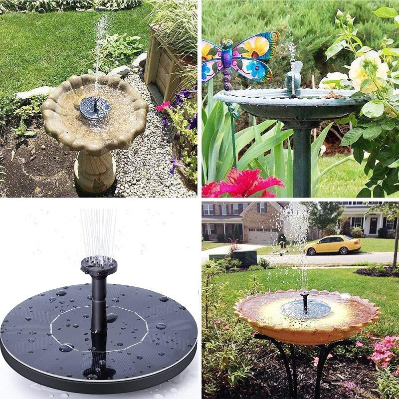 2021 Solar Fountain Solar Water Fountain Pump For Garden Pool Pond Watering Outdoor Panel Pumps Kit For From Huojuhua 14 28 Dhgate Com