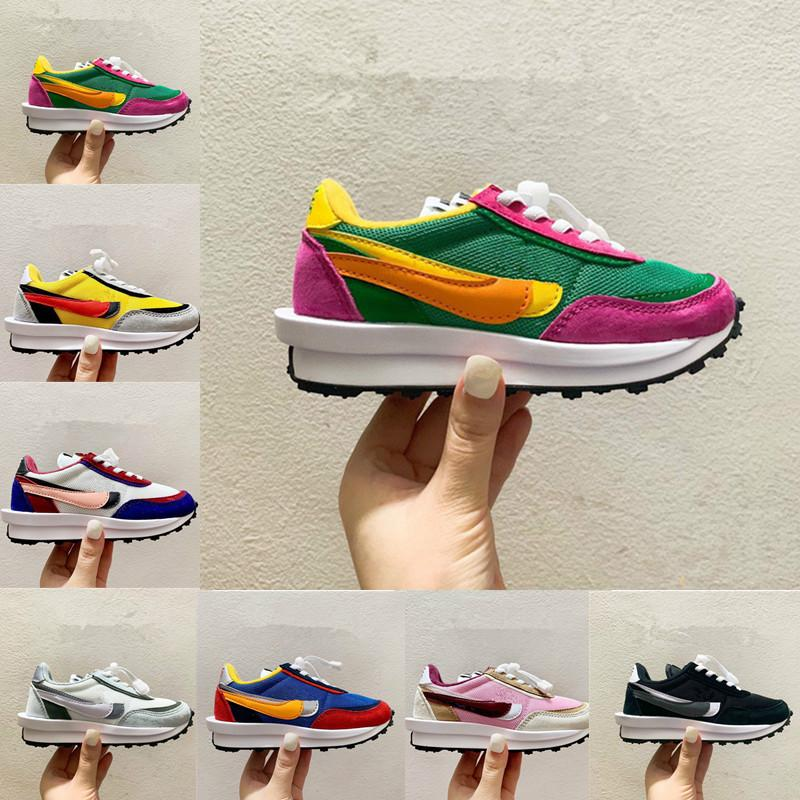 2020 Kids Running shoes Boys Girls Gusto Sneaker Sneakers Double hook and tongue pour enfants Athletic sport Shoes Plus trainers