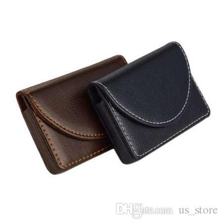 Kreditkartenpaket Kartenhalter Doppel offener Visitenkartenetui Hohe Qualität
