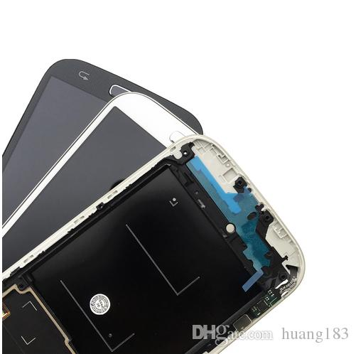 Oled Display For Samsung S4 IV LCD Display and Touch Screen Digitizer Assembly with Frame and Button Flex i545 L720 R970