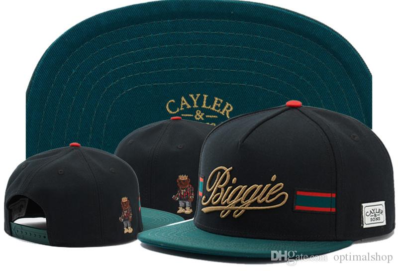Cayler & Sons Biggie Baseball Caps 2020 New Arrivals Cotton Casual Style Gorras Sport Hip Hop Man Women Brand New Snapback Hats