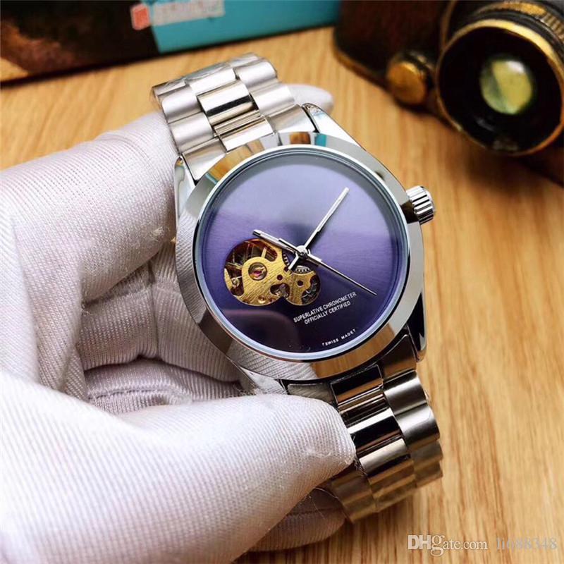 Relojes Hombre Maschio in acciaio inossidabile di lusso 16233 Orologio Automatico Designer Montre Homme Affari Mens Orologi meccanico Montre de luxe