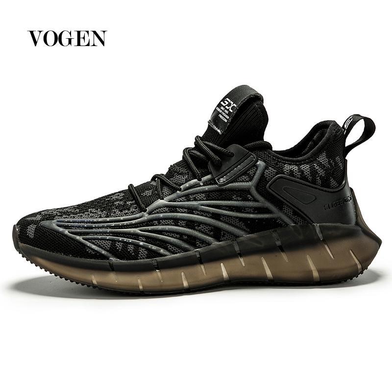 Nuevos zapatos para correr hombre coreano zapatos frescos de primavera antideslizante absorbente de luz transpirable Deportes Zapatos Balck