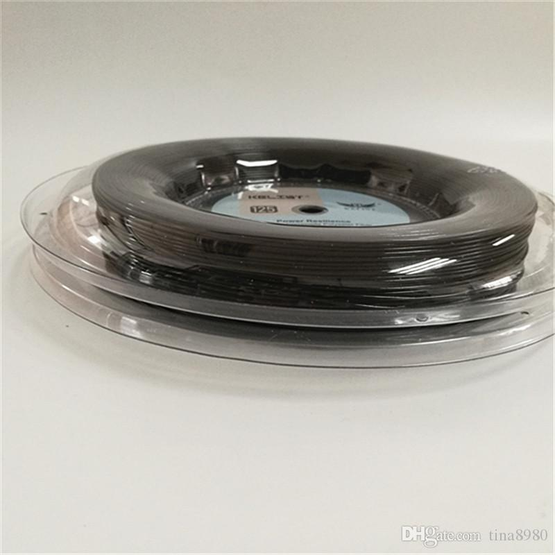 Оптовый бренд Big Banger Alu Power теннисная катушка Co-полиэстер 660ft черного цвета