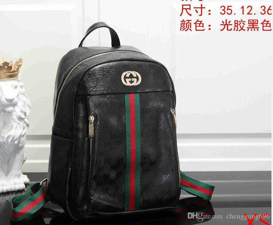 Uomini caldi di nuovo modo di borse famoso sacchetto di stile zaino per gli uomini le donne sacchetto di scuola del progettista sacchetti di doppio della spalla