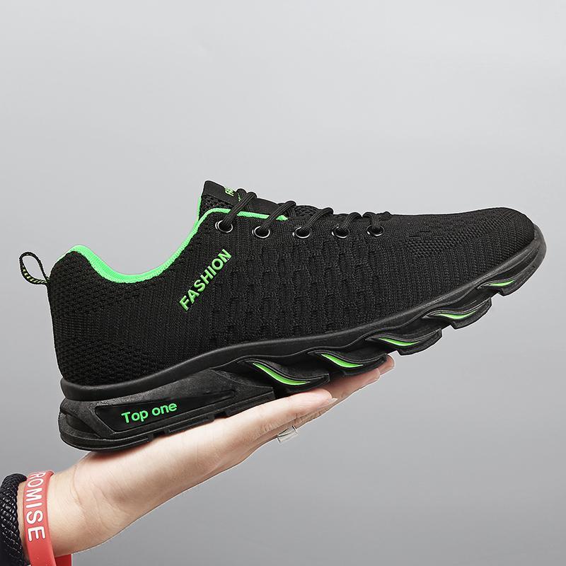 Yeni Trend Erkekler Spor Rahat Açık Kaymaz Erkekler Sneakers Zapatos Ayakkabı Koşu Işık Nefes Sıcak Satış Ayakkabı