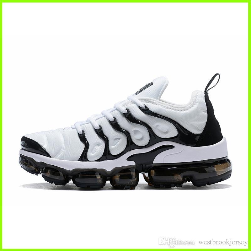 Marca TN Plus diseñador zapatillas de deporte para mujer para hombre Tns zapatos al aire libre aptitud de la gimnasia de zapatos Blanco Negro Gris Deporte Formadores Chaussures caliente de la venta