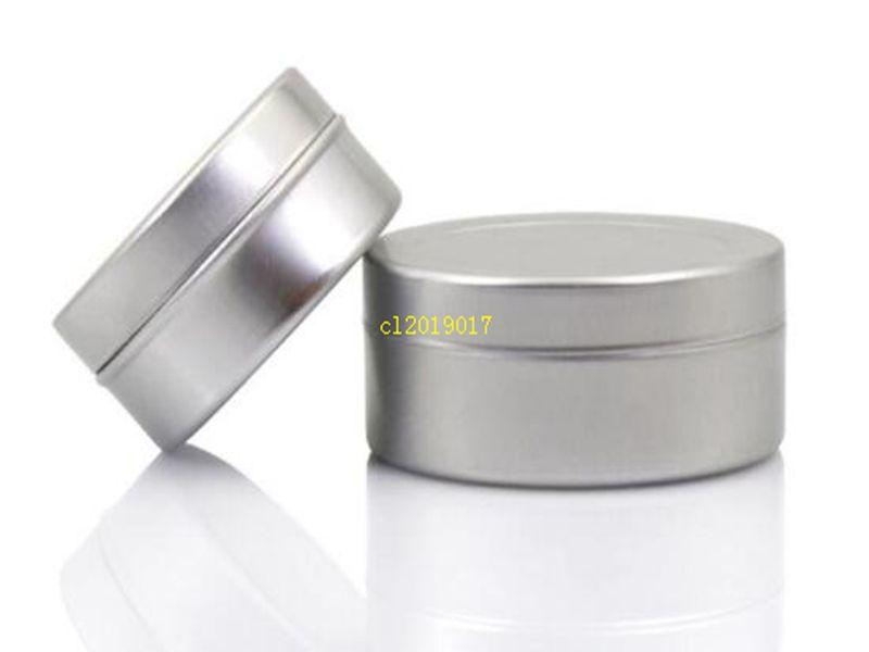 Ücretsiz kargo 20g boş alüminyum krem kavanoz, kozmetik çantası kavanoz, 20 ml alüminyum teneke, metal dudak balsamı konteyner