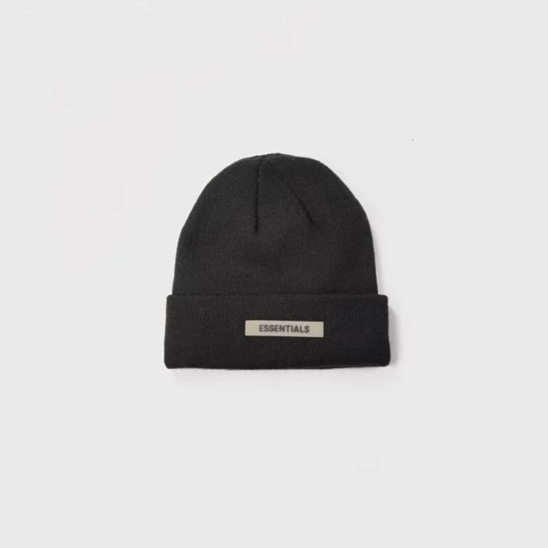 19fw 공포 FOOG 면 찬 모자 유행 온난한 안락한 모자 한 쌍 여자와 남자 디자이너 모자 HFKYMZ001