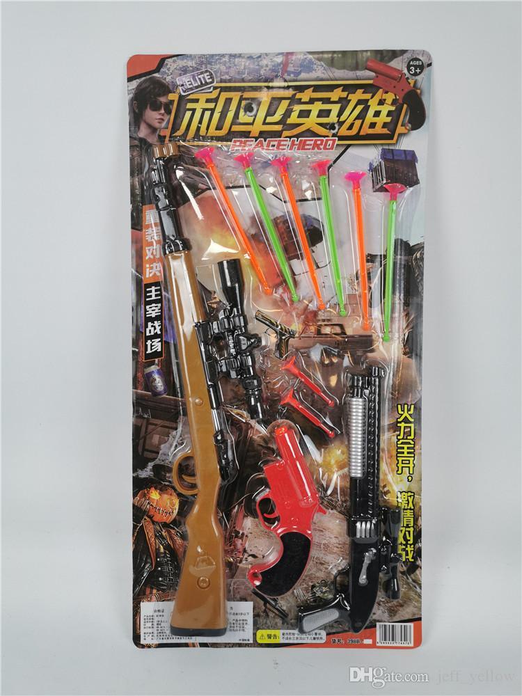 Grátis A New Paz elite macio bala menino brinquedo arma macio bala arma Outfit Boy emissão criança macio bala arma Otário