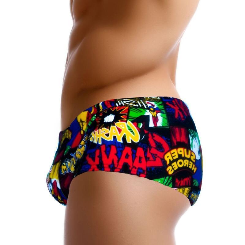 Swimwear Swimwear Sexy Mens Swimsuits Low Waist Swimmer Boxer Beach Trunks Uomo Swim Shorts Gay Surf Board Shorts Slip Slip