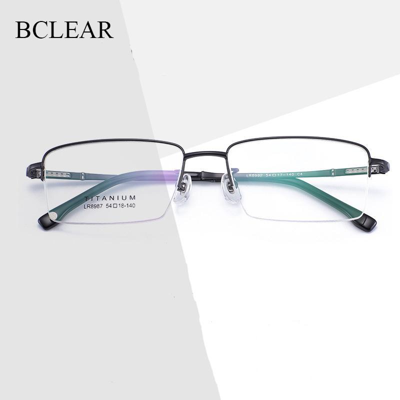 BCLEAR 2020 Новая мода Мужские очки Рамка Ultra Light-взвешенный Гибкая IP Электронные Покрытие металла Материал обода очки