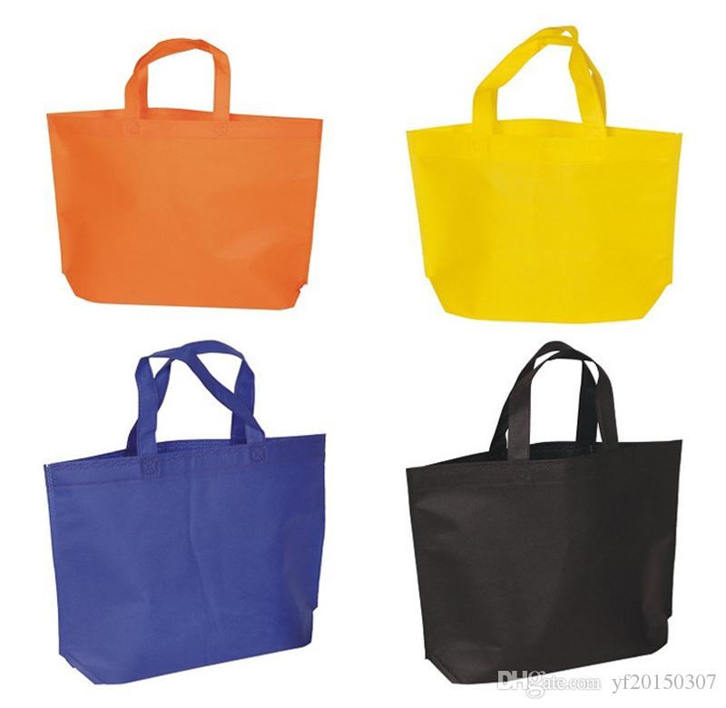 Bolsas de regalo de 25x30cm Bolsas de compra no tejidas ecológicas reutilizables Bolsa de regalo de vuelta