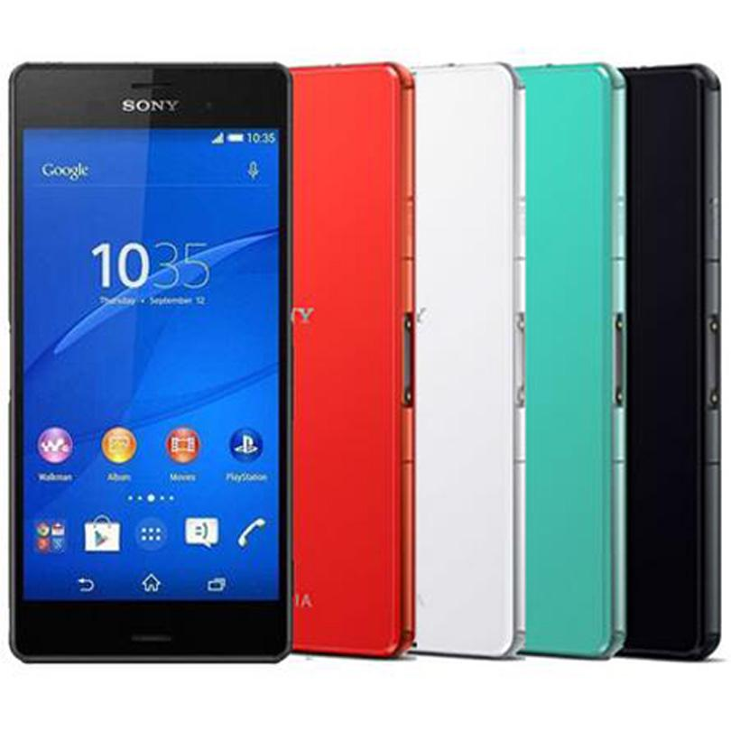 Refurbished Original Sony Z3 Compact D5803 4G LTE 4.6 inch Quad Core 2GB RAM 16GB ROM 20.7MP Camera Unlocked Android Smart Phone DHL 1pcs