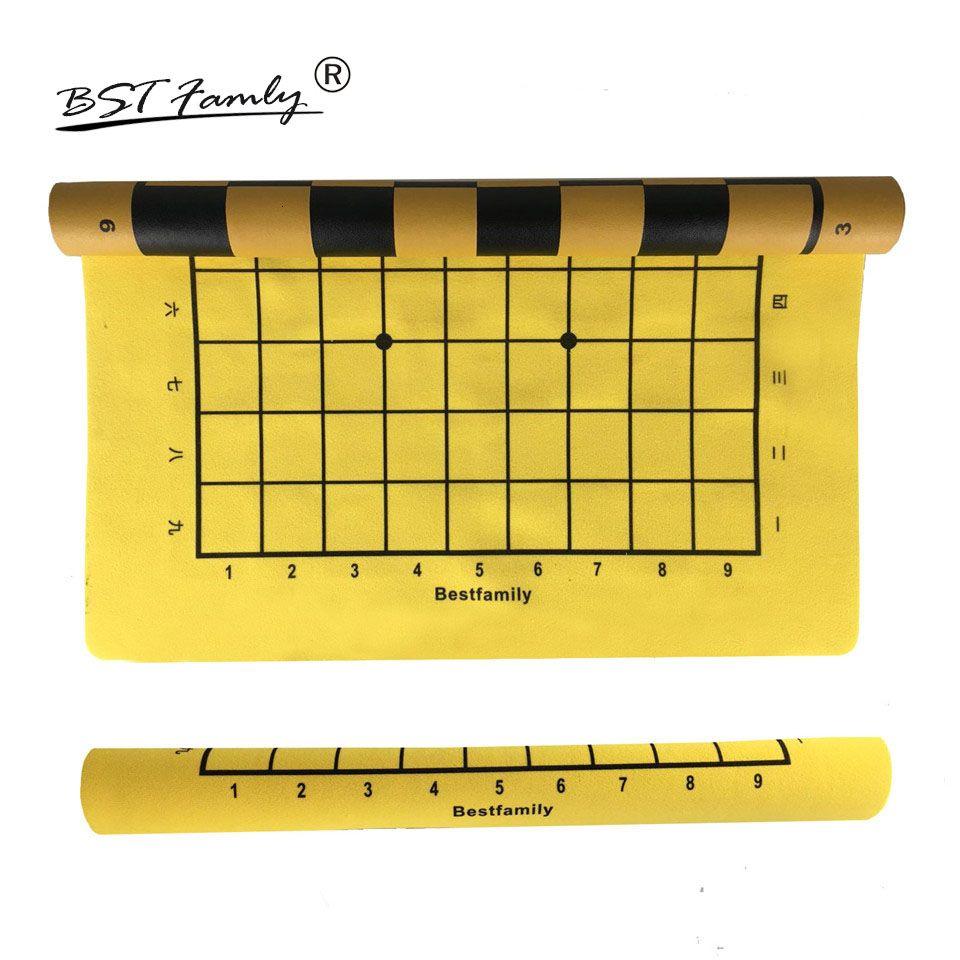 BSTFAMLY Japan Shogi 46 * 50cm Echiquier 45 * 50mm Vérificateur pour Sho-gi Jeu d'échecs Portable Cadeau Retour est International Checkboard JB3 SH190907
