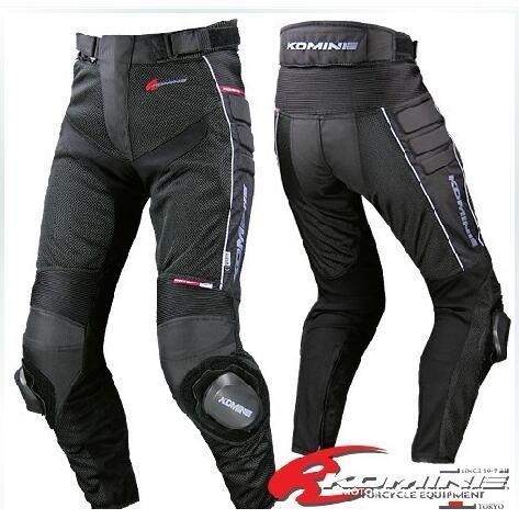 Toptan Motocross Komine PK-708 Mesh Nefes Pantolon Motosiklet Sürme Pantolon Yaz Boyutu bn