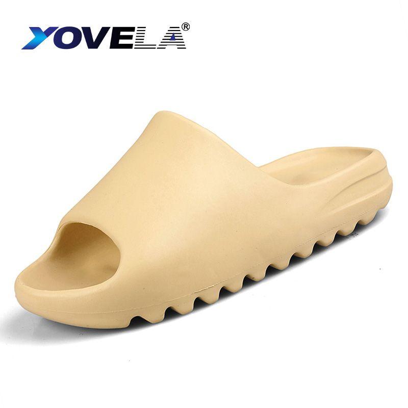 Design Men Slippers Indoor Home Hotel Slippers Lover Bathroom Anti-slip Slides Summer House Shoes Ladies Plus Size 36-45