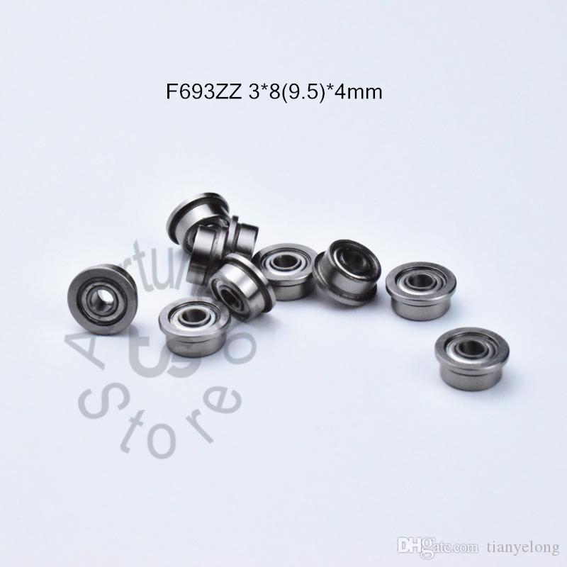 Cuscinetti F693ZZ flangia 693 F693Z F693ZZ 3 * 89.5 * cuscinetti radiali a sfere in acciaio cromato 4MM