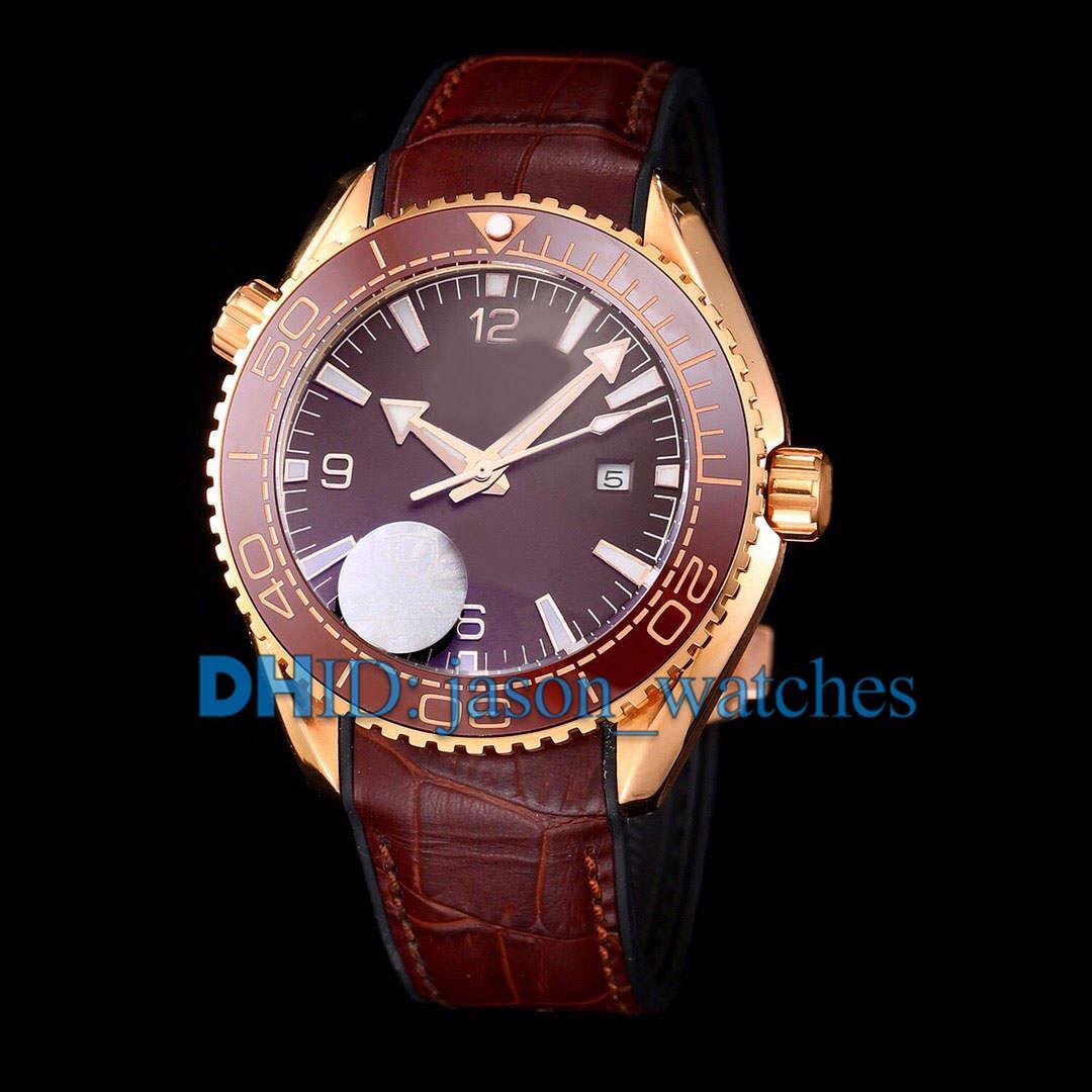 Montre люксусный шикарные спортивные мужские часы Импорт механические автоматические weritwatches Дата 316L Stee кожаный чехол каучуковый ремешок авто Релох де LUJ