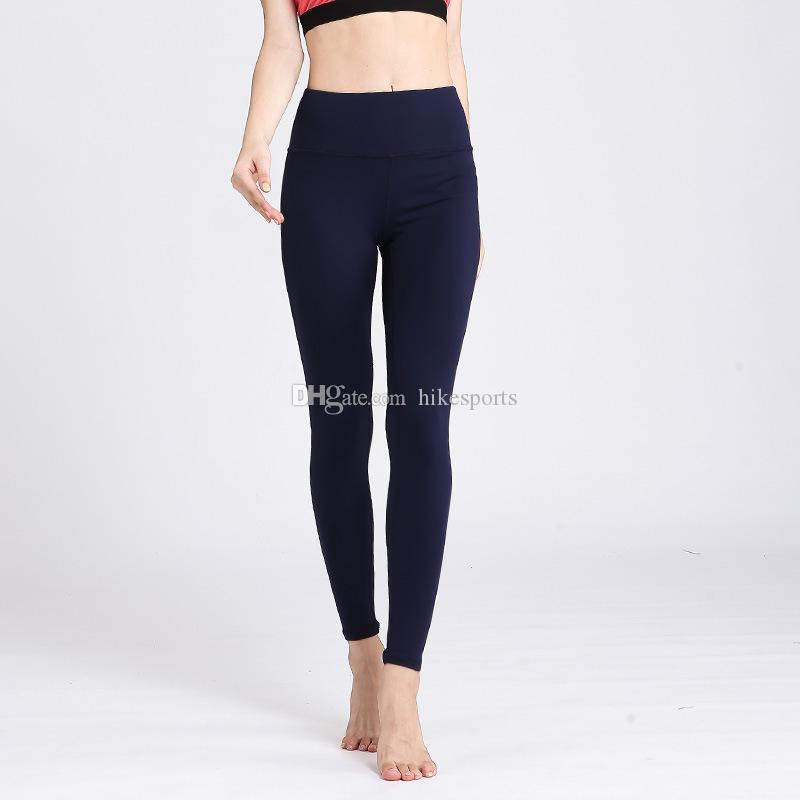 Women Sport Yoga Pants High Waisted Workout Leggings Fitness Running Dance Trousers Elastic Tights Skinny Pants Quick Dry Ankle Length Pants