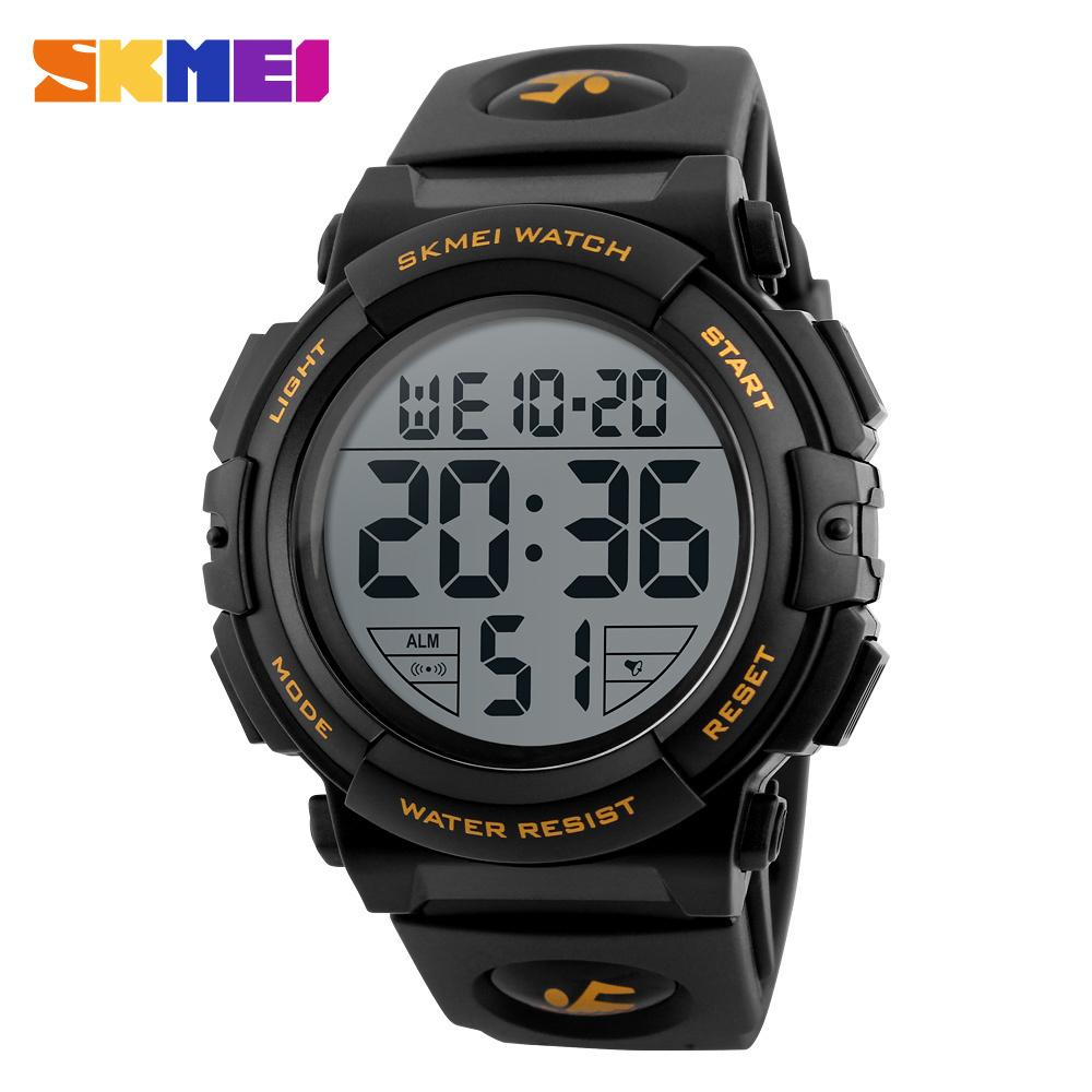 Skmei Fashion Men Sports Watches Waterproof 50m Outdoor Digital Watch Men Swimming Wristwatch Reloj Hombre Montre Homme T190709