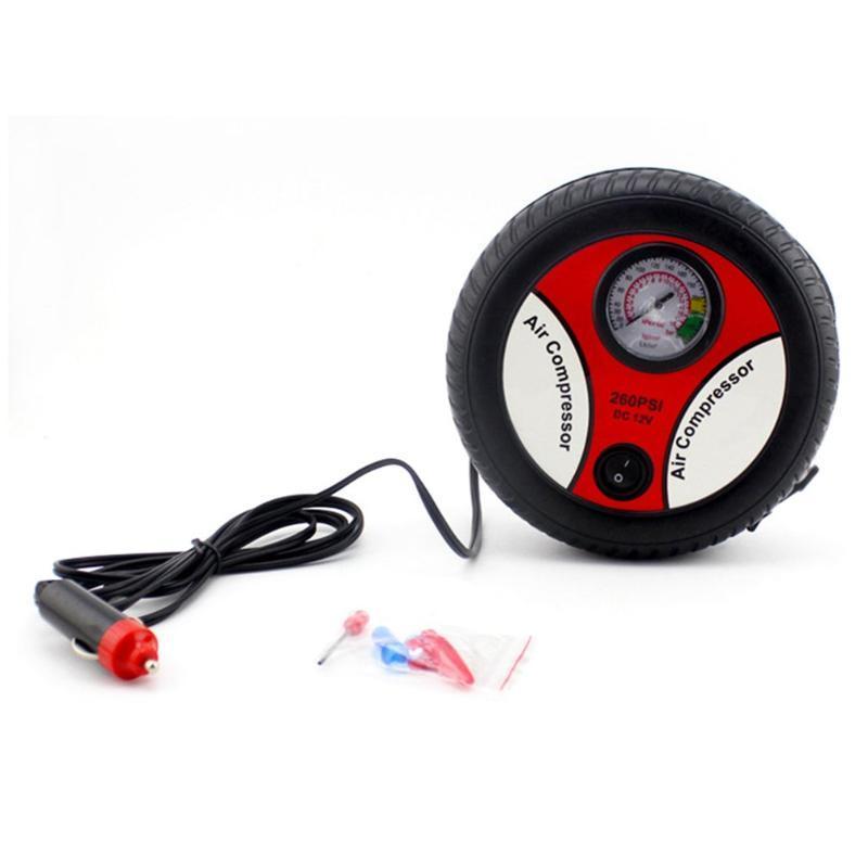 Type B Car Inflatable Pump Tire Portable Automotive Inflator Pump 12V Electric High Pressure Car Inflator
