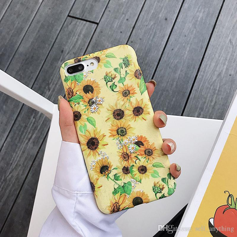 Caja del teléfono del francés literaria Flor de silicona líquida sensación para Iphone X Max Xr 6 7 8 X Plus Tapa blanda casos de teléfono celular