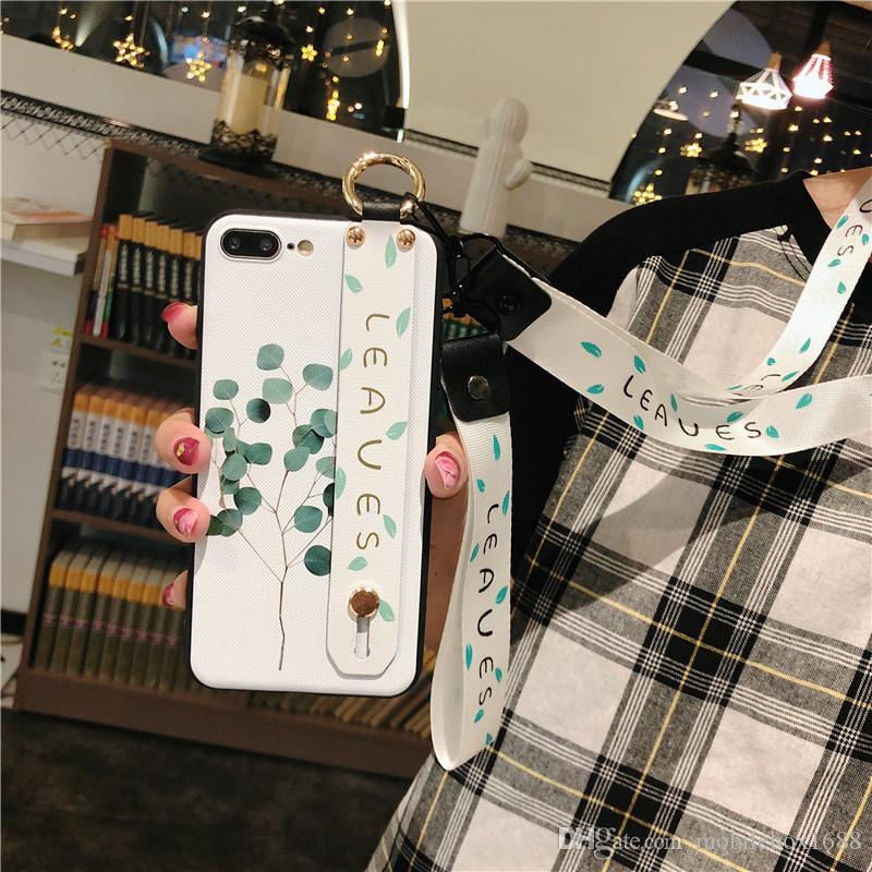 iphone aplicável 6 / 6S 7/8 mais caixa do telefone móvel X / XS XR 11Pro MAX pulseira de silicone caso macio