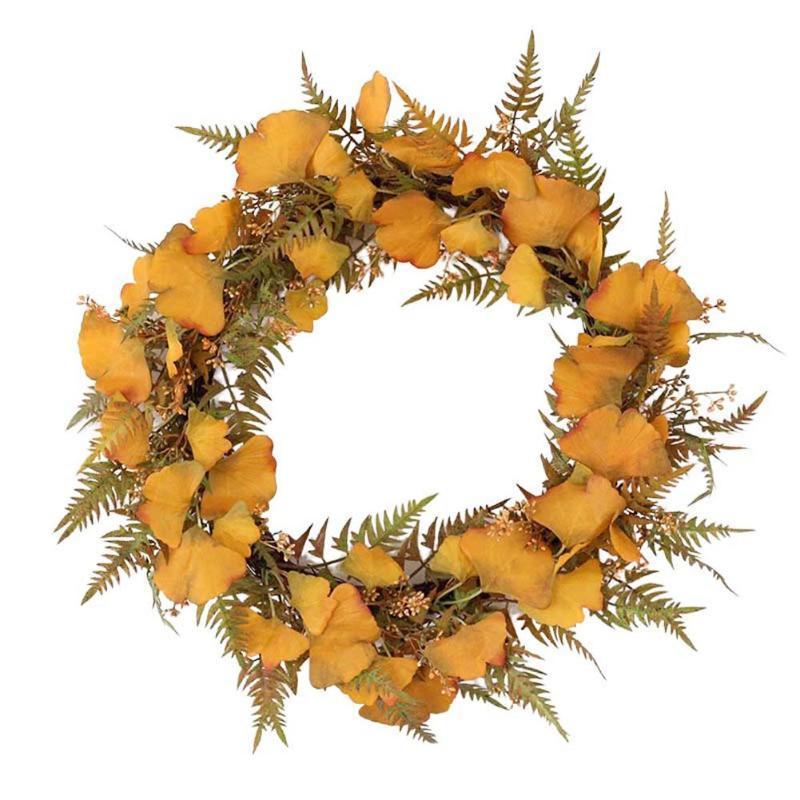AsyPets 55CM Simulieren Bodhi Frucht-Kranz für Hochzeitsfest-Fenster-Tür-Dekoration