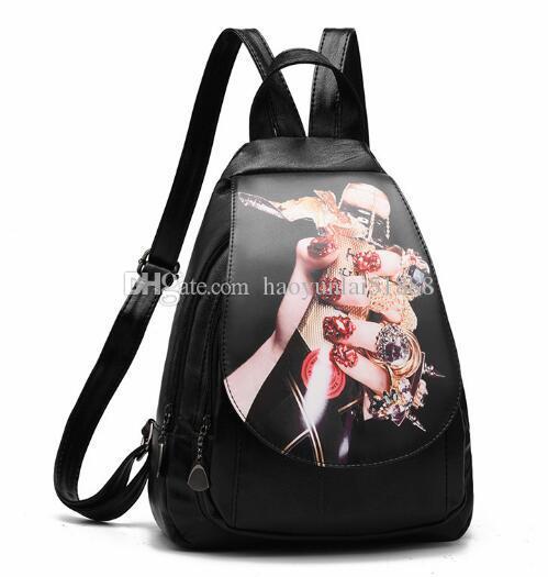 бесплатная доставка корейская версия женская сумка мотоцикл с чистым цветом студентов досуг рюкзак двойной плечо круглая сумка женская сумка