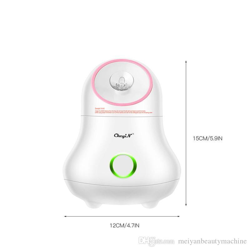 2020New Nano Ionic лица Пароход Lady Face Распылитель Увлажнитель Личный Сауна Спа Steaming инструмент красоты Увлажняющий Open Pore Skin Care