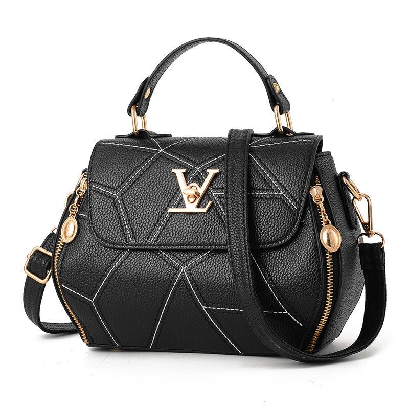 Лоскут V Марка Женская сумка Luxury Leathe сумки Shell нить Дамы Дизайнер сцепления сумка Sac A Главный Femme Bolsas Women'sTote Кошелек SH190918