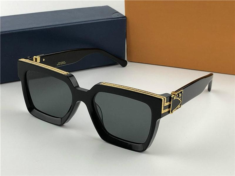 2020 النظارات الشمسية موضة جديدة الاستقطاب، والنظارات الاتجاه شخصية للرجال والنساء، هدية مربع UV400 ذات جودة عالية 96006 الجو