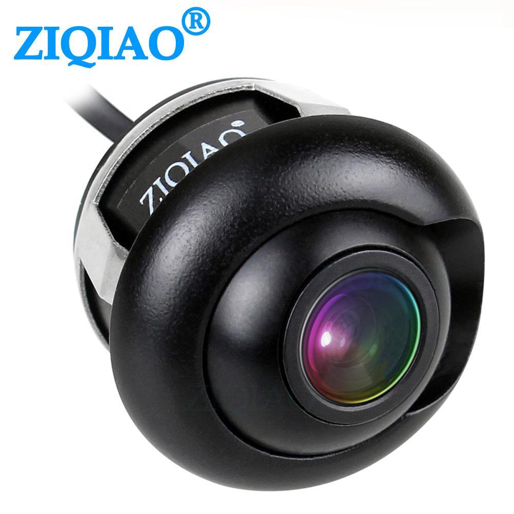 Автомобиль ZIQIAO автомобиля спереди Вид сзади Парковочная камера ночного видения HD Вид сбоку камера заднего вида HSB012