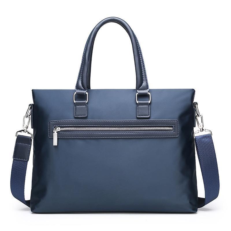 Oxford Waterproof Business Handbag Men Women Briefcase 15 inch Laptop Handbag Causal Document Office Shoulder Bag Computer Bag for Men new